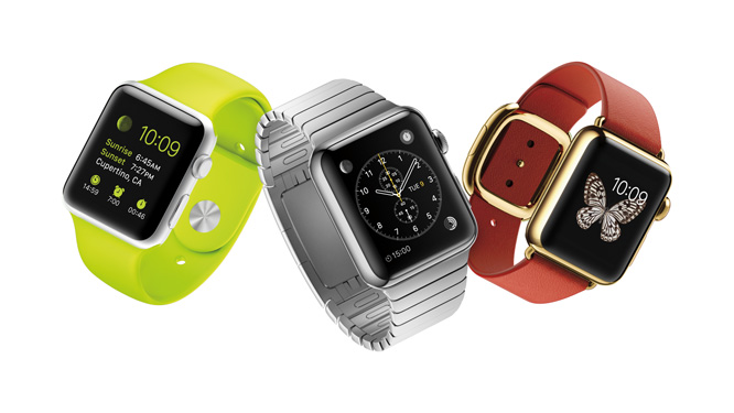 Apple Watch to come in 4GB, 8GB versions?