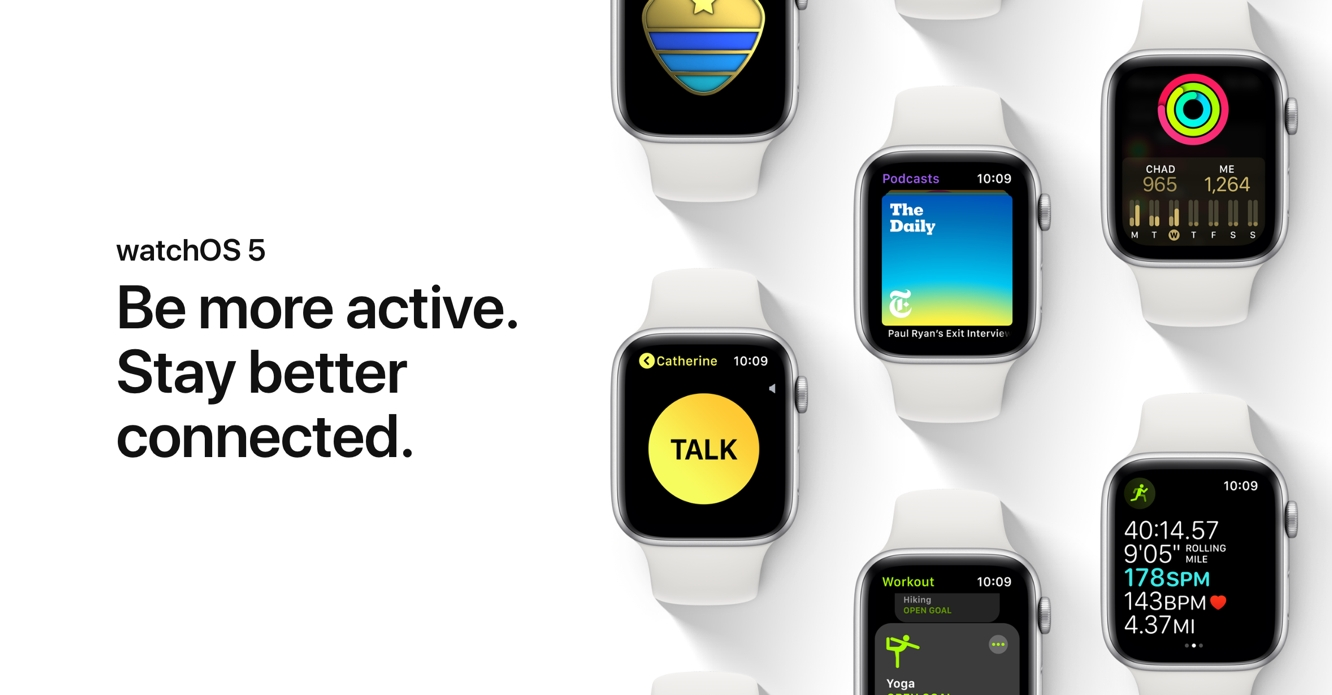 Apple releases watchOS 5.0.1 with fix for Activity Ring bug
