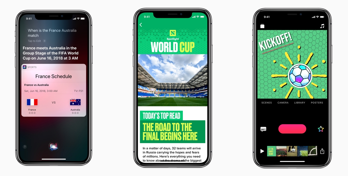 Apple expands Siri support for World Cup, adds new themed content 1