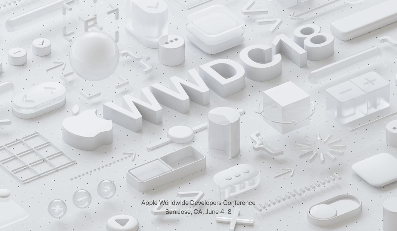 Apple announces WWDC 2018