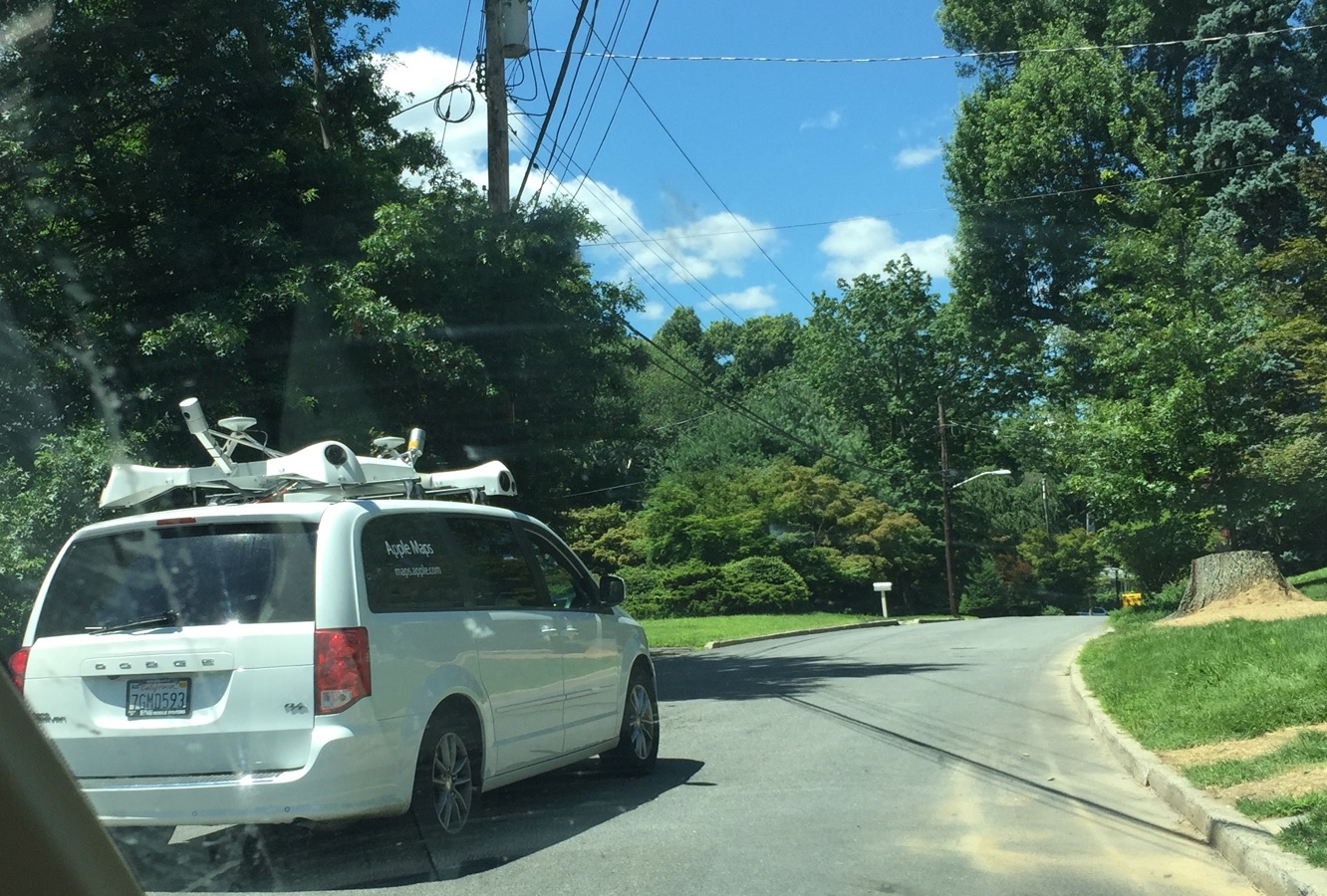 Apple Maps van spotted in greater NYC metro area 1