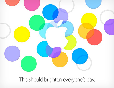 Apple invite officially confirms Sept. 10 iPhone event 1