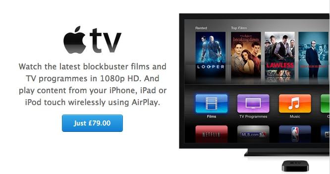 Apple TV price cut in Europe