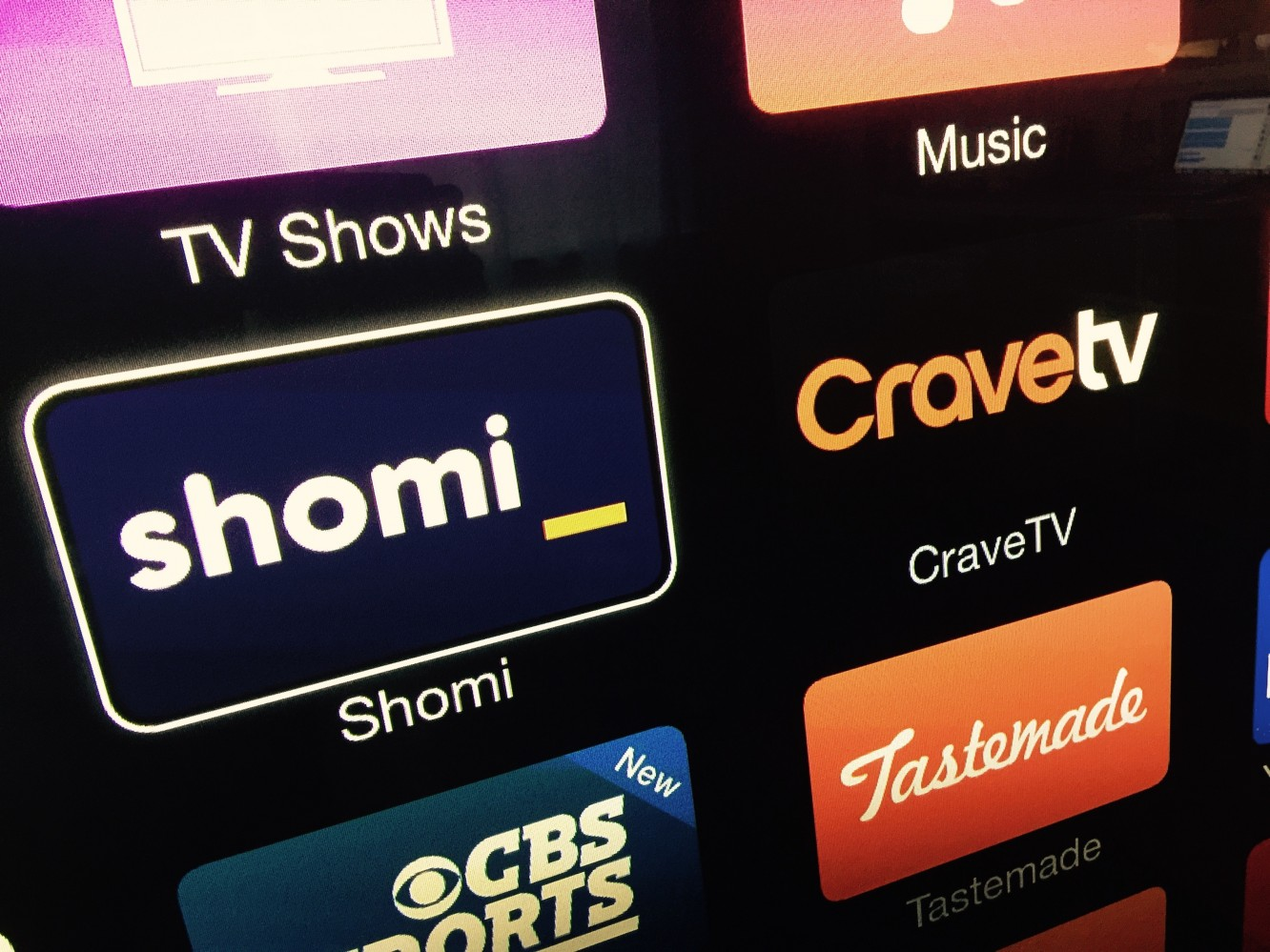 Apple TV adds Shomi, CraveTV channels in Canada 1