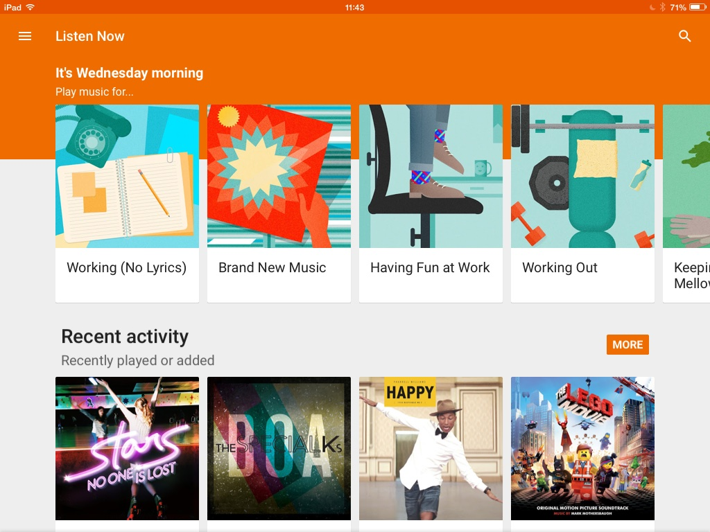 Dropbox, Google Play Music, Microsoft Office Apps, Microsoft Outlook, NBC + more 1