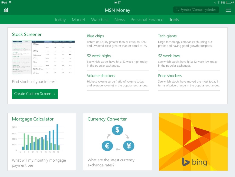 apps msn money News: Apps of the Week: Microsoft's MSN apps