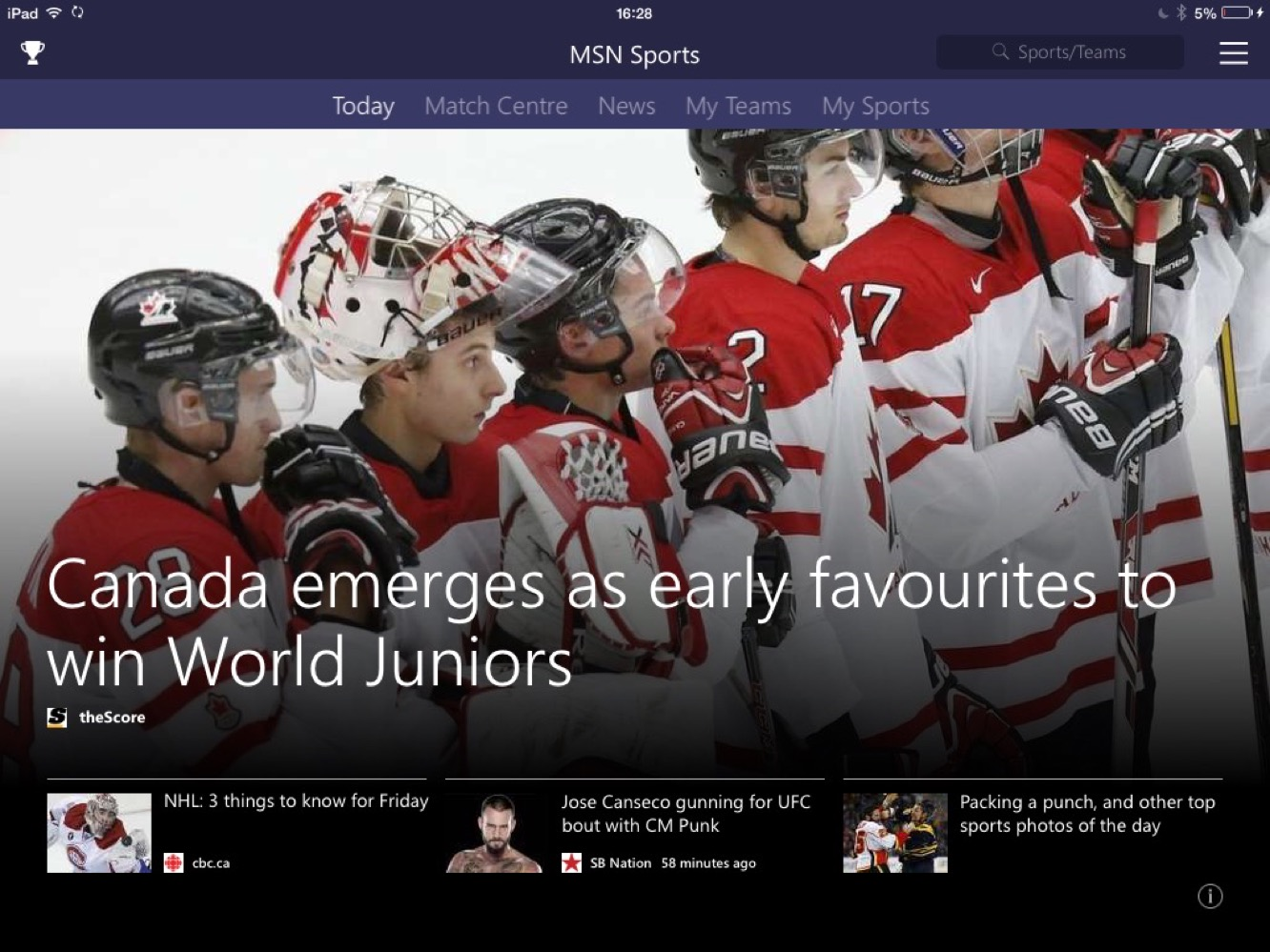 apps msn sports News: Apps of the Week: Microsoft's MSN apps