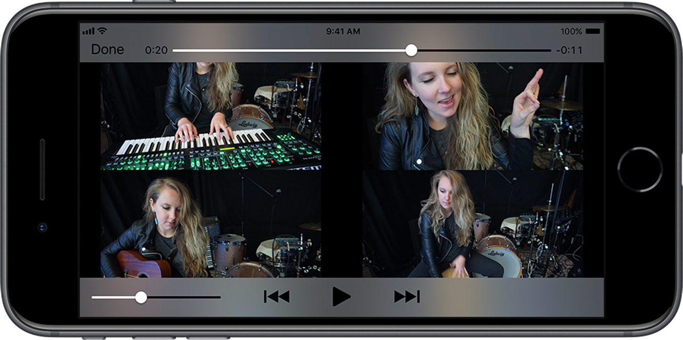 Roland announces new app for creating split screen music videos