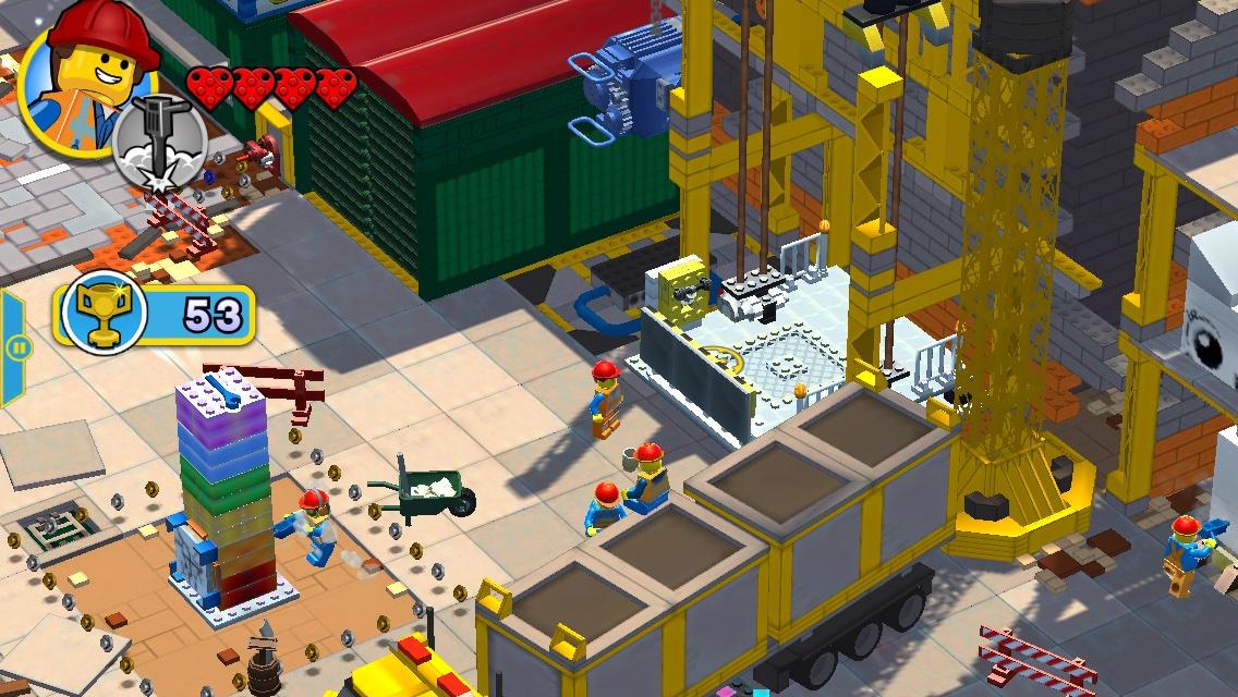 The lego movie video game rocket cars spongebob sponge on the run