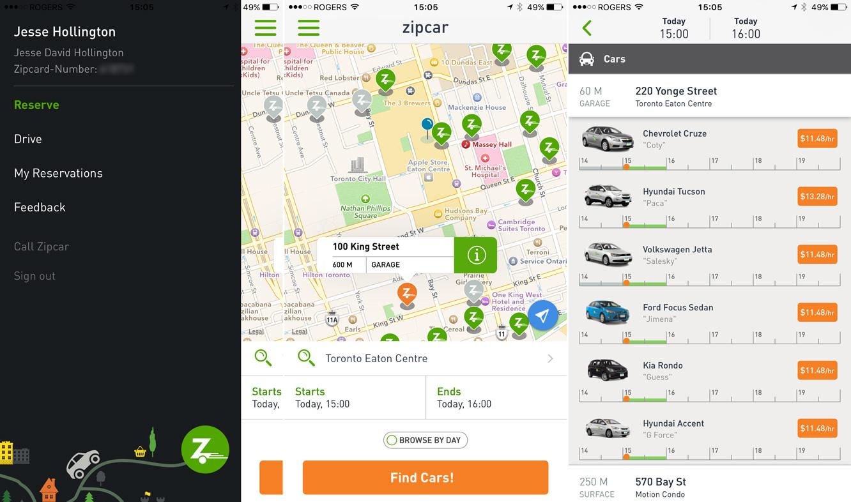 Cooking Dash 2016, Disney Gif, iTunes U 3.0, Swarm 2.5, + Zipcar 4.0