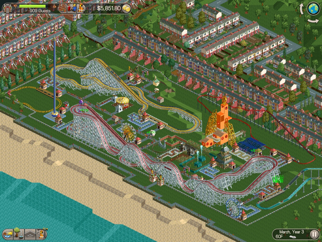 App Diary: RollerCoaster Tycoon Classic 26