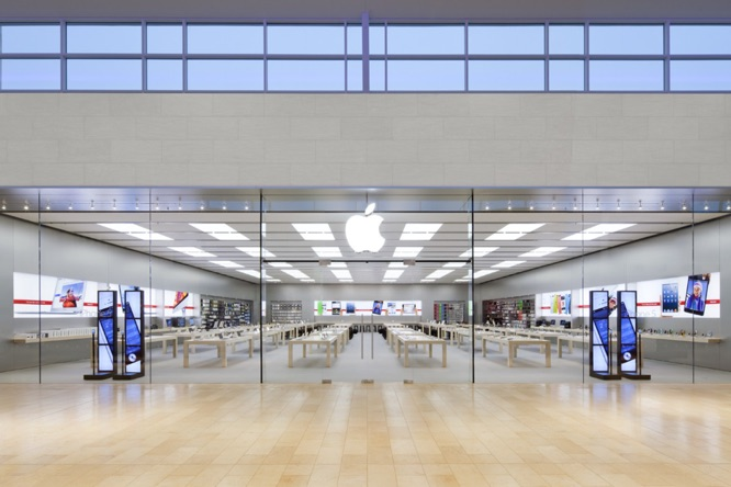 Apple Store effect wins company lower mall rents 1