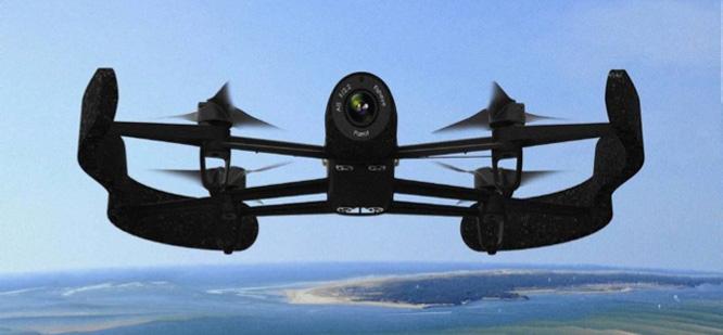 Parrot reveals enhanced AR.Drone sequel Bebop Drone 1