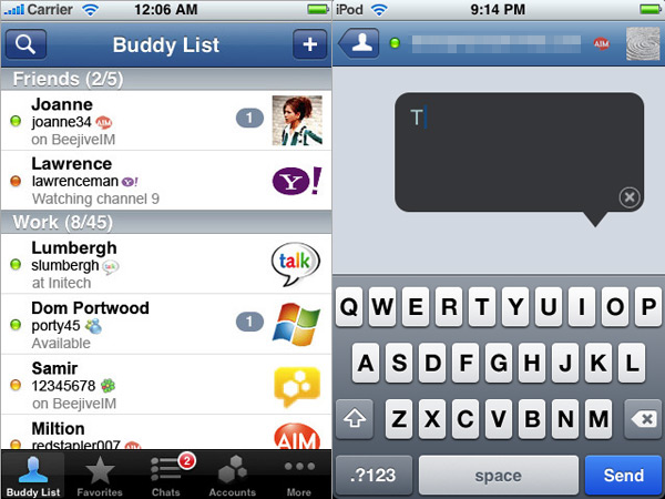 iPhone Gems: The Best Instant Messaging Apps