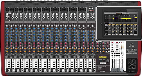 Behringer rolls out three iPad-docking mixers 1