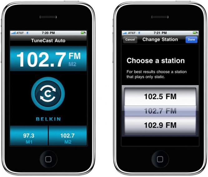 Belkin debuts App-powered TuneCast Auto Live