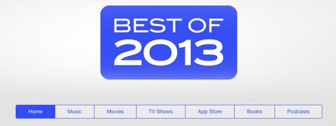 Apple releases 'Best of 2013' on iTunes 1
