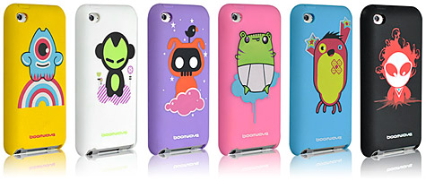 Boomwave intros Zu Series cases for iPod touch 4G 1