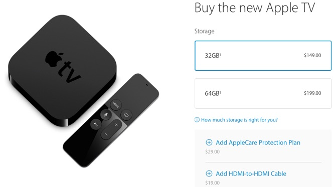 New Apple TV now available from Apple's online store 1