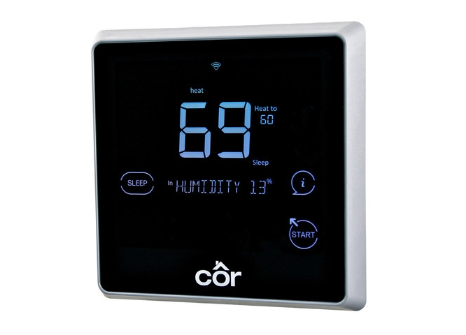 Carrier adds HomeKit support to Côr Thermostat 1