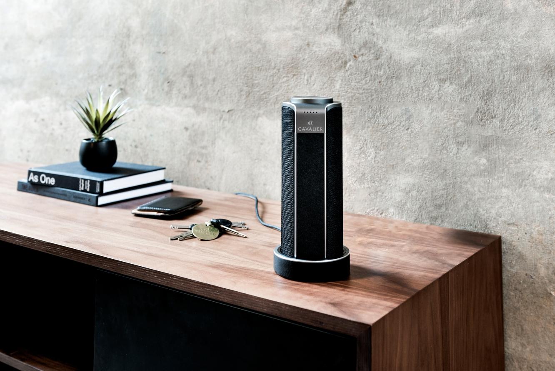 Cavalier Audio debuts with Maverick artisan speaker system