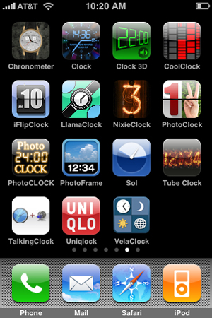 iPhone Gems: 15 Clock Applications, Reviewed 1