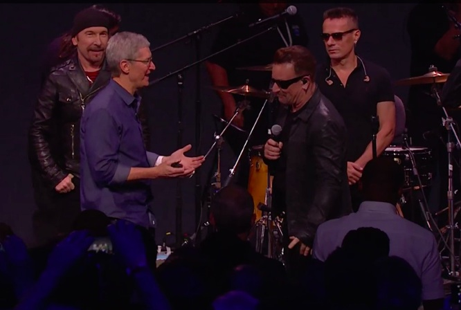 Apple: 33M iTunes users have accessed U2 album