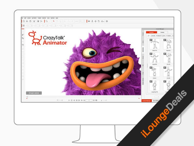 Daily Deal: CrazyTalk Animator 3 Pro