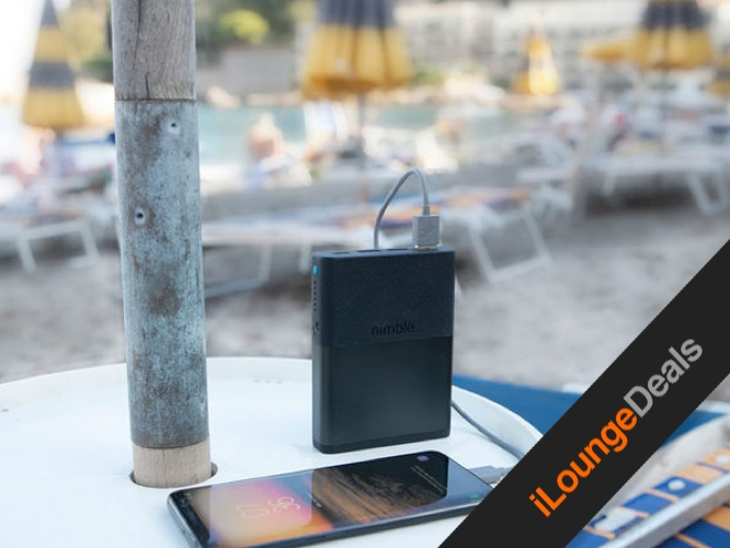 Daily Deal: Nimble Eco-Friendly Fast Portable Charger