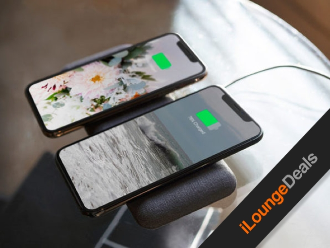 Daily Deal: Nimble Eco-Friendly Wireless Dual Charging Pad