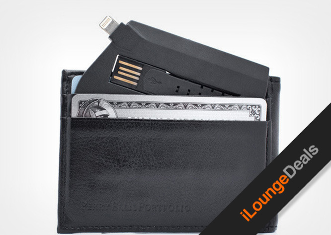 Daily Deal: ChargeCard - The Credit Card-Sized Lightning Cable for $25