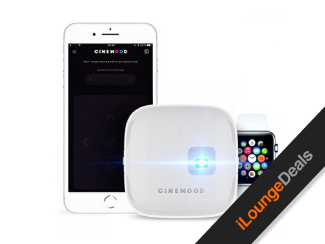 Daily Deal: CINEMOOD Portable Movie Projector