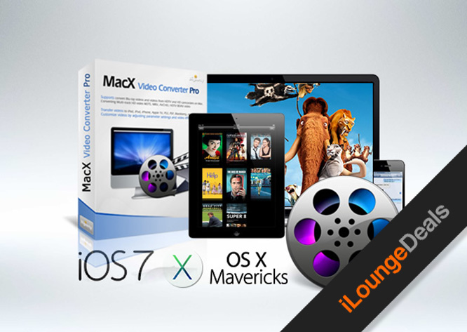Daily Deal: Last chance to Get The MacX DVD Video Converter Pro Pack for 81% off