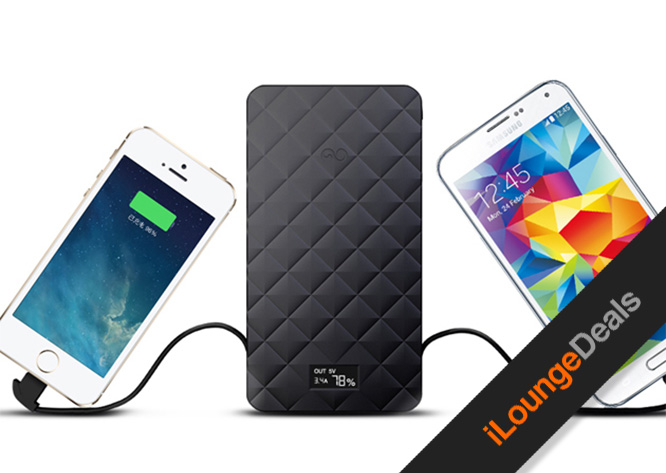 Daily Deal: Extreme Trio 10000mAh Battery Pack w/ Built-In Charger Cables