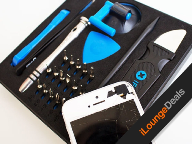 Daily deal ifixit essential electronics toolkit ilounge news today in ilounge deals you can pick up the ifixit essential electronics toolkit for only 1995 this comprehensive do it yourself toolkit can help you solutioingenieria Choice Image
