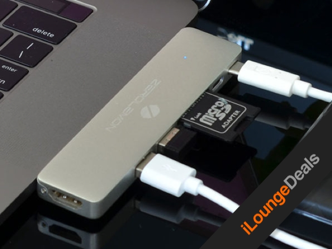 Daily Deal: iMemPro USB-C Hub for Apple MacBook Pro