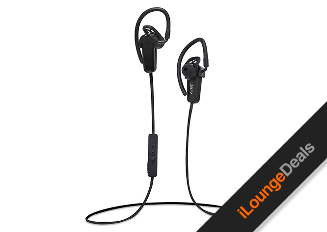 daily deal jarv nmotion pro bluetooth earbuds ilounge news. Black Bedroom Furniture Sets. Home Design Ideas