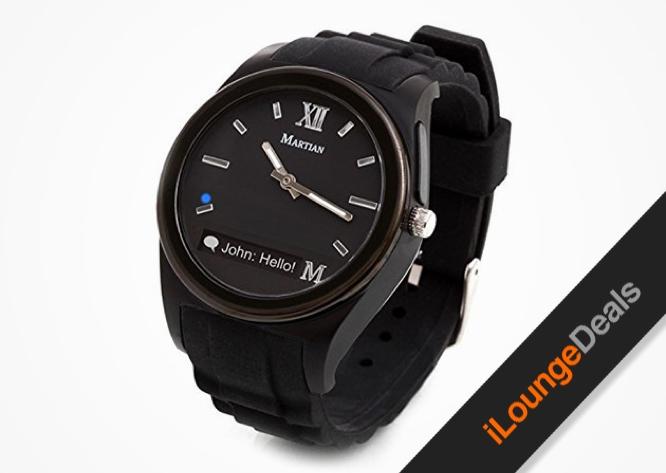 Daily Deal: Martian Notifier Smartwatch