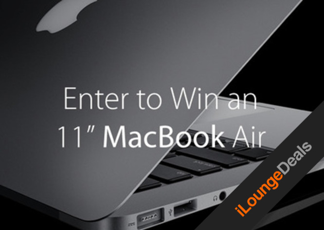 "Daily Deal: The 11"" MacBook Air Giveaway"