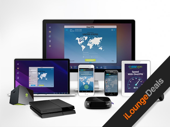 Daily Deal: OneVPN Lifetime Subscription