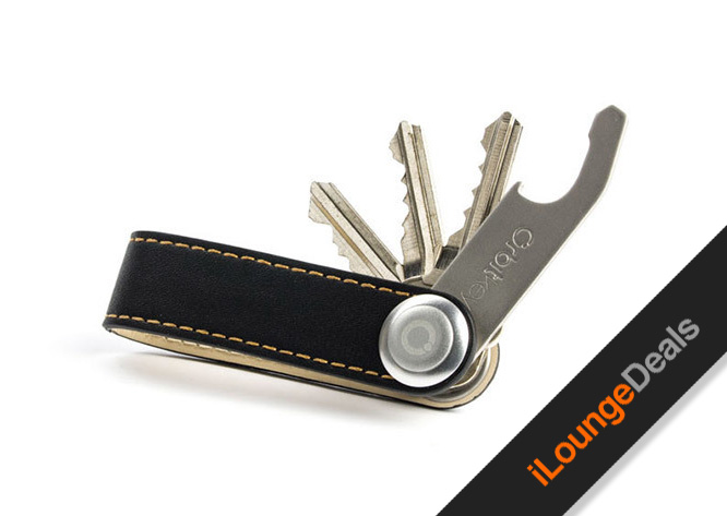 Daily Deal: OrbitKey Leather Key Organizer & Bottle Opener
