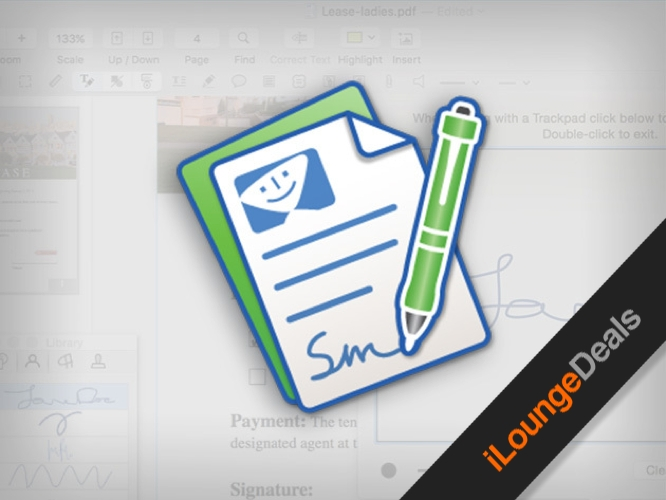 Giveaways contests ilounge daily deal pdfpen 8 all purpose pdf editor for mac fandeluxe Images