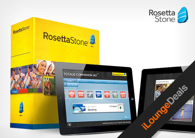 Daily Deal: Get up to $290 off a Rosetta Stone language set of your choice