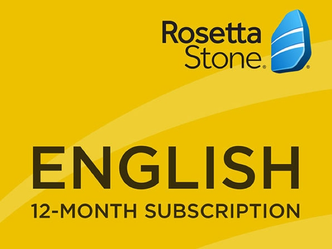 Daily Deal: Rosetta Stone, 12-month Subscription (US English)
