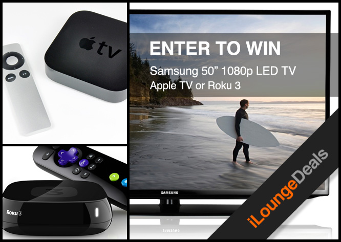 Daily Deal: Samsung TV Giveaway