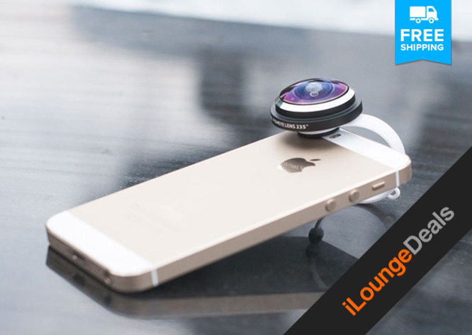 Daily Deal: Super Fisheye Clip-On Lens