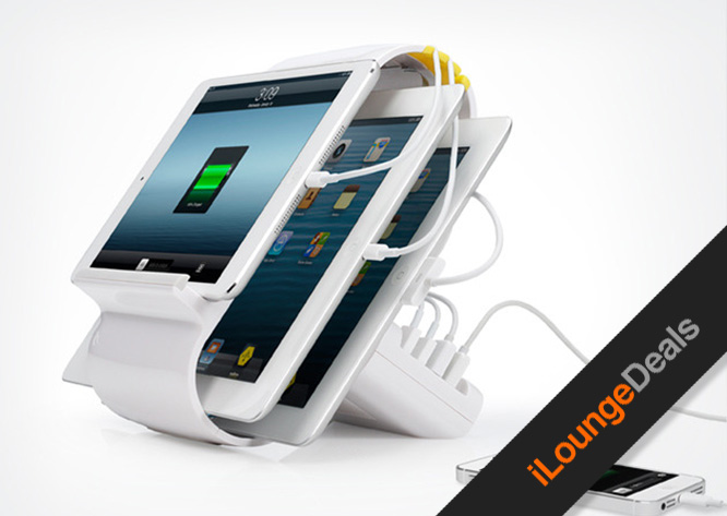 Daily Deal: Get the Sydnee 4-port Smart Charging Station for $79