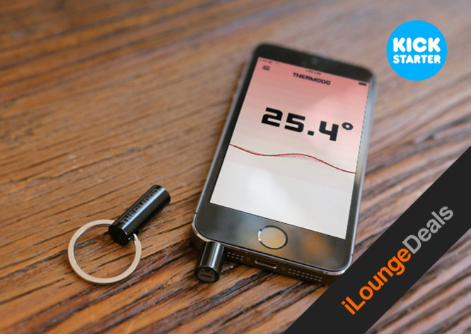 Daily Deal: Thermodo real-time temperature sensor for iPhone