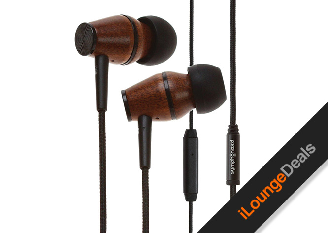 Daily Deal: Save 50% off the XTC In-Ear Genuine Wood Headphones