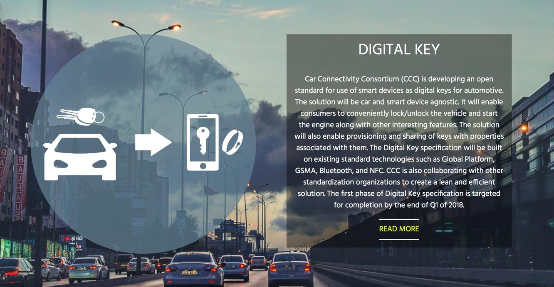 Apple part of consortium working on Digital Car Key spec 1